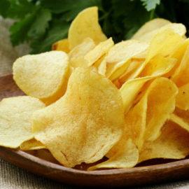 Картофельные чипсы в торговой сети Магнит